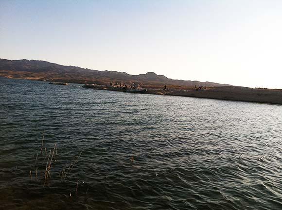 Lake  Current in a Cove