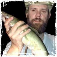 Holding a Catfish