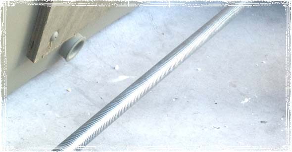 Threaded Axle Rod