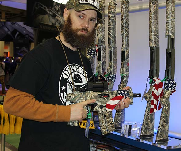 Mossberg Duck Commander guns