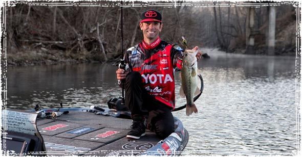 Pro Angler Mike Iaconelli Bass Fishing