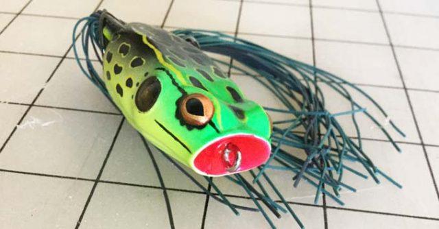 Booyah Bait Poppin Pad Crasher Frog