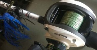 Braided Fishing Line on a Baitcaster Tied directly to a SwimJig