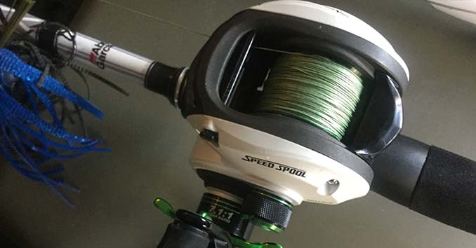 Lews Baitcaster Speed Spool with 7.1:1 Gear Ratio