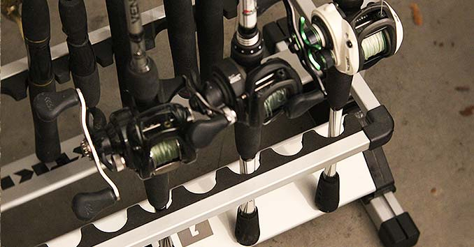 The bottom of the KastKing Fishing Rod Rack