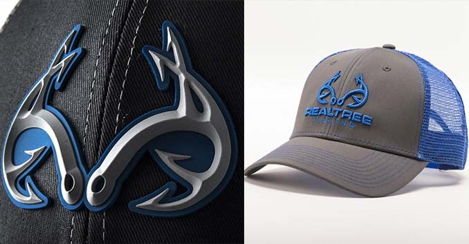 Realtree Fishing Hat and Fishing Logo