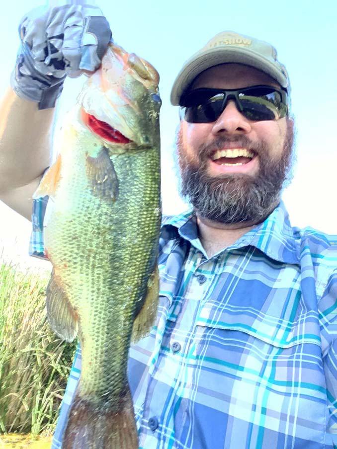 Largemouth Bass fishing in Las Vegas