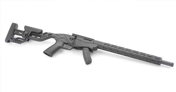 The Ruger Precision™ Rimfire .22lr rifle