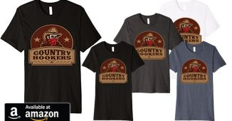 Country Hookers Fishing Shirts