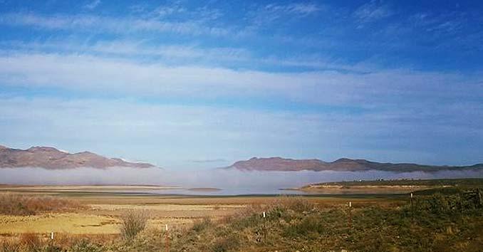 Wildhorse Reservoir in Eastern Nevada