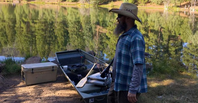 Fishing Beaver, Utah
