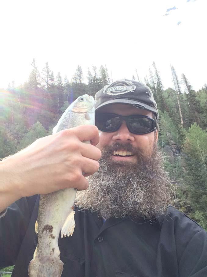 Catching Trout on Kents Lake in Utah